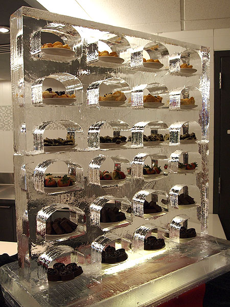 Fire Amp Ice Creations Gallery Functional Food Display